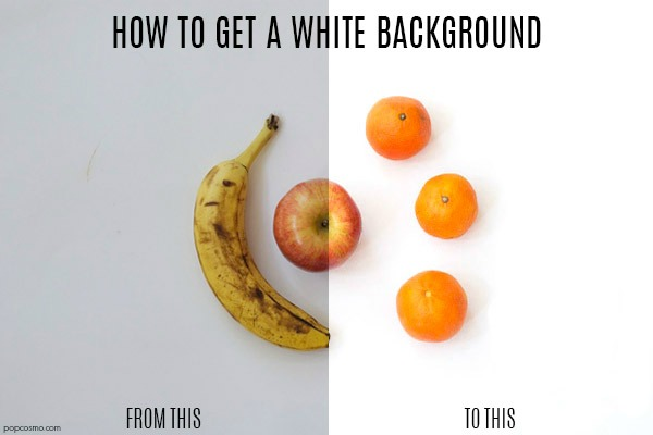 photography tip how to get a white background