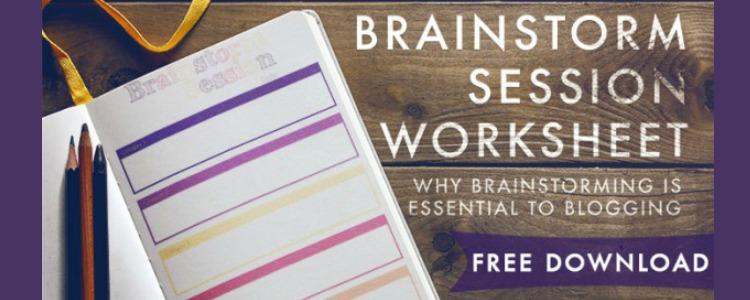 Why Brainstorming is Essential