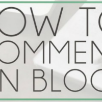 How to leave amazing blog comments.