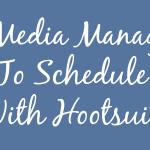 How To Schedule Posts With Hootsuite