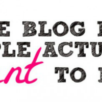 write blog posts people actually want to read