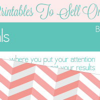 create and sell printables