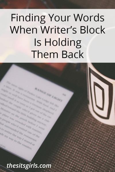 writer's block | writing tips