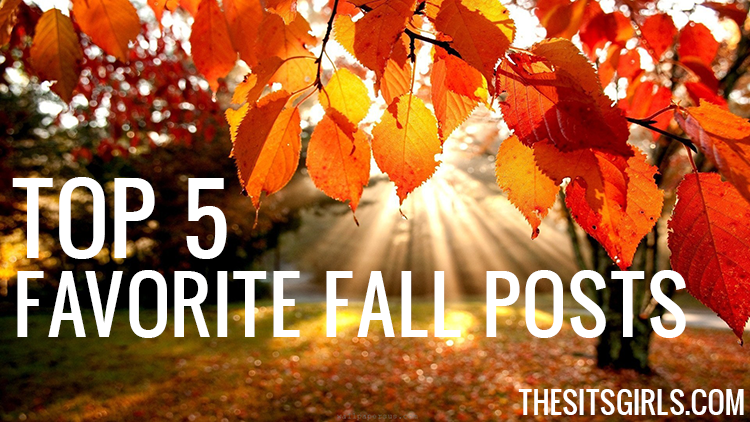 We love fall! These are our favorite five blog posts celebrating fall.