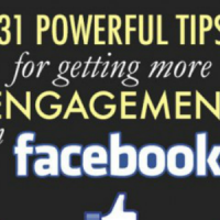 How to get engagement on your facebook page.