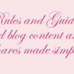 FTC Guidelines For Sponsored Blog Content And Social Shares Made Simple