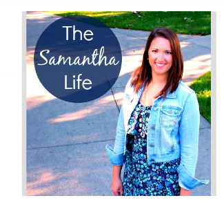 featured blogger the samantha life