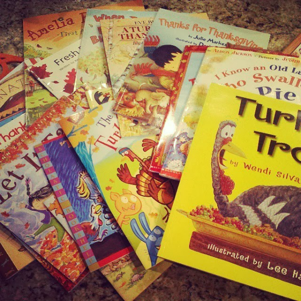 Awesome fall and Thanksgiving books for kids.