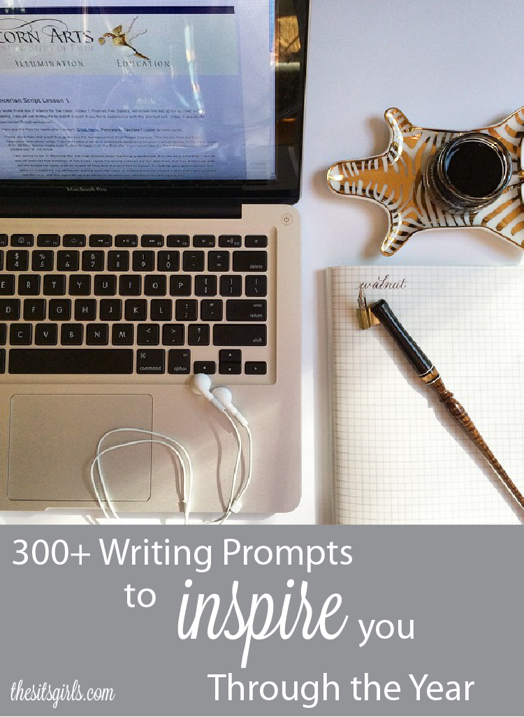 Jumpstart your blog with a writing prompt for every day of the year!