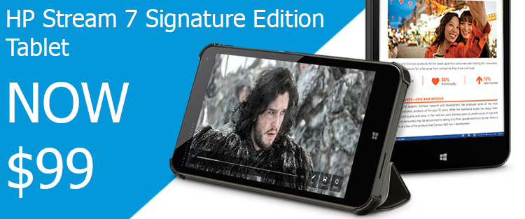 HP 7 Signature Edition Tablet