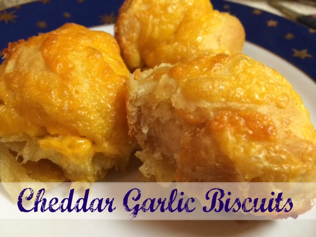 Chedar Garlic Biscuits Recipe