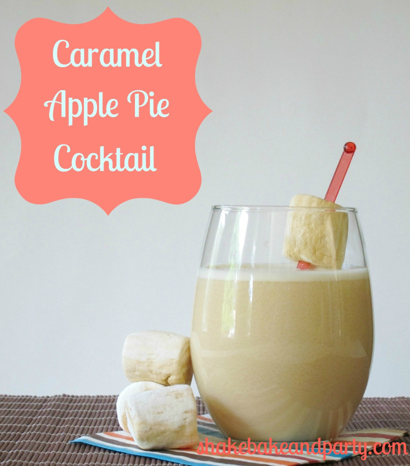 Caramel Apple Pie Cocktail