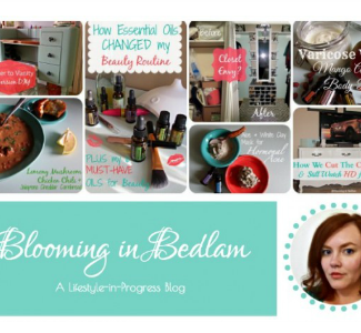 blooming in bedlam featured blogger