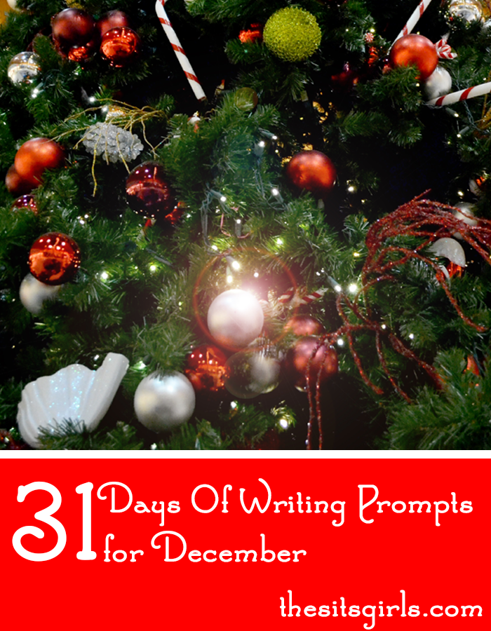 writing prompts for december