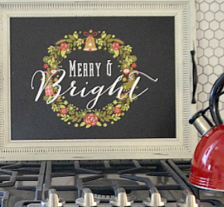 Decorate your home early for the holidays so all can be merry and bright.