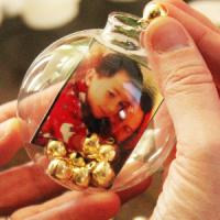 DIY Instagram Christmas Ornament Tutorial
