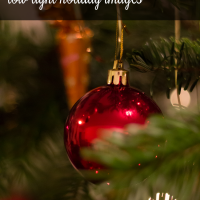 From Christmas light twinkles to the bokeh effect, these tips will help you take amazing picture this holiday season. Even those low-light indoors pictures will turn out well with these photography tips.