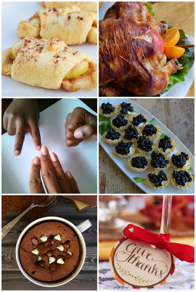 Awesome recipe and parenting posts to read before Thanksgiving.