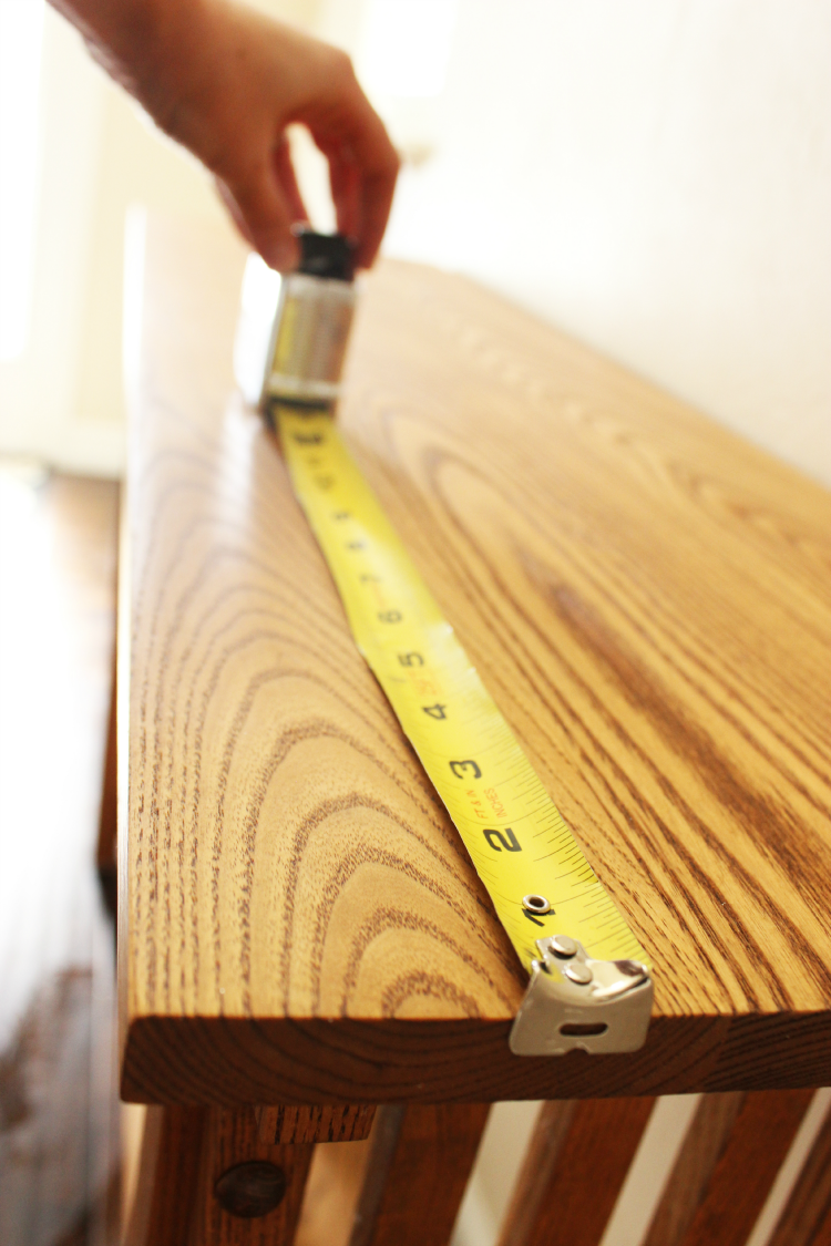 Measure your table top
