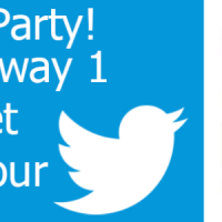 Tablet Twitter Party
