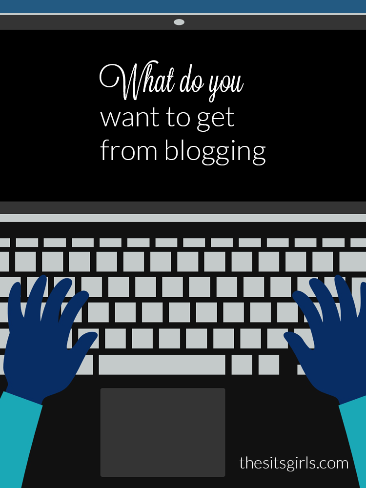 What do you want to get from blogging? Think about your passion and focus, and let them lead your blog.