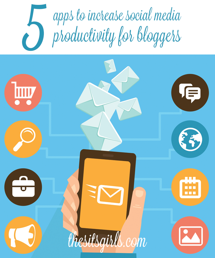 5 apps that help bloggers to save time and be more productive on social media.