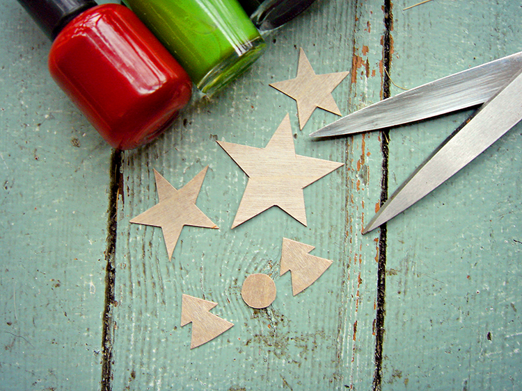 Cut out your Christmas shapes