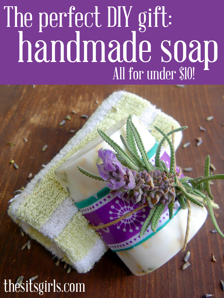Handmade soap is a great DIY gift on its own, or in a basket of self-care items. It is much easier to make than you might think, and this tutorial will help you get started.