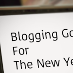 New Year's Blog Resolutions