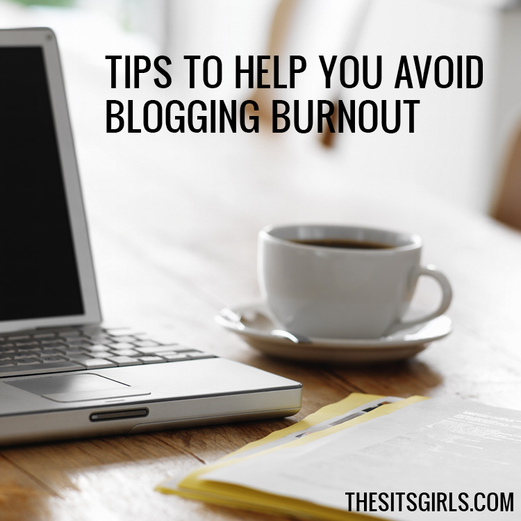 Four tips to help you avoid blogging burnout, so you will stay inspired and love your blog every day.