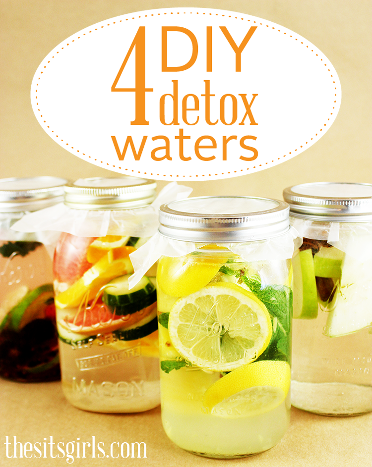 4 DIY Detox Waters