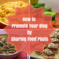sharing food posts