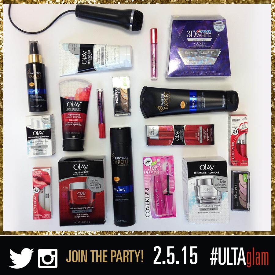 #ULTAglam party Feb 5, 2015
