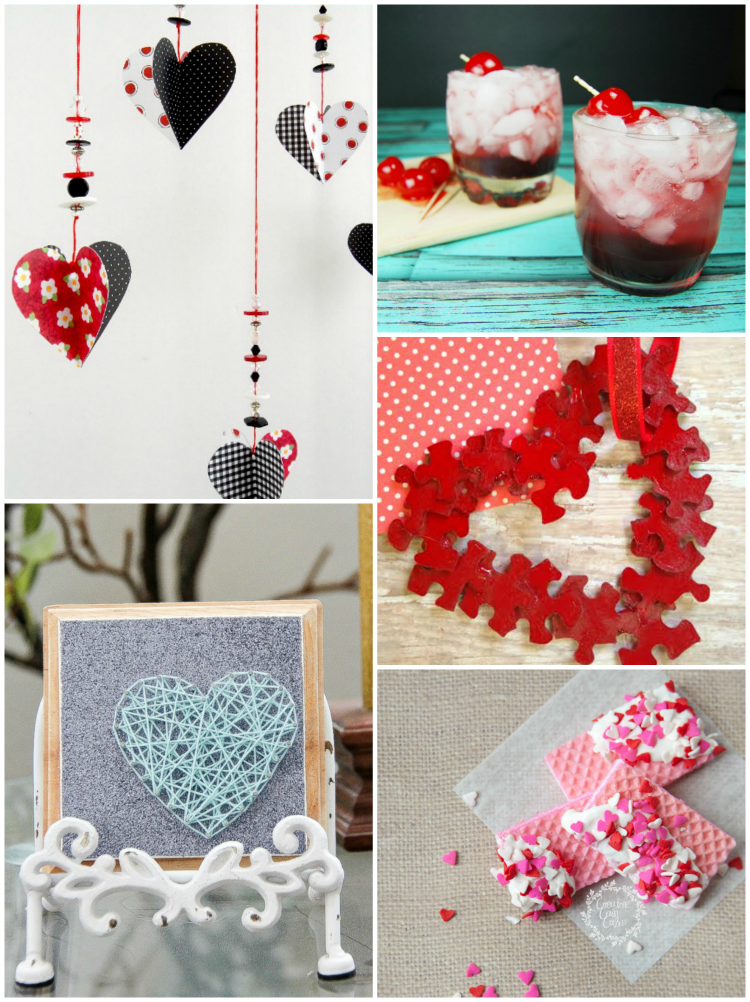 5 easy things to make for valentine 39 s day for Valentine decorations to make at home