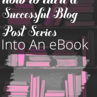 Learn how to turn your blog posts into an eBook. With tips to help you decide which posts to use, cover design hints, and formatting help, this is everything you need to know about self-publishing an eBook.