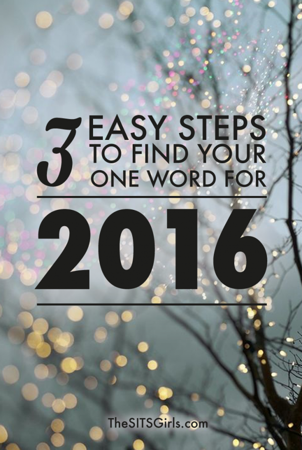 These three steps will help you figure out what one word represents your resolutions for the year, so you can focus and meet your goals. This is great for business or personal and family goals.