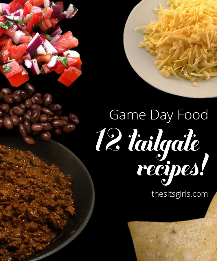 Are you having a party for the big game? These 12 recipes will give you ideas for easy to make dishes everyone will love.