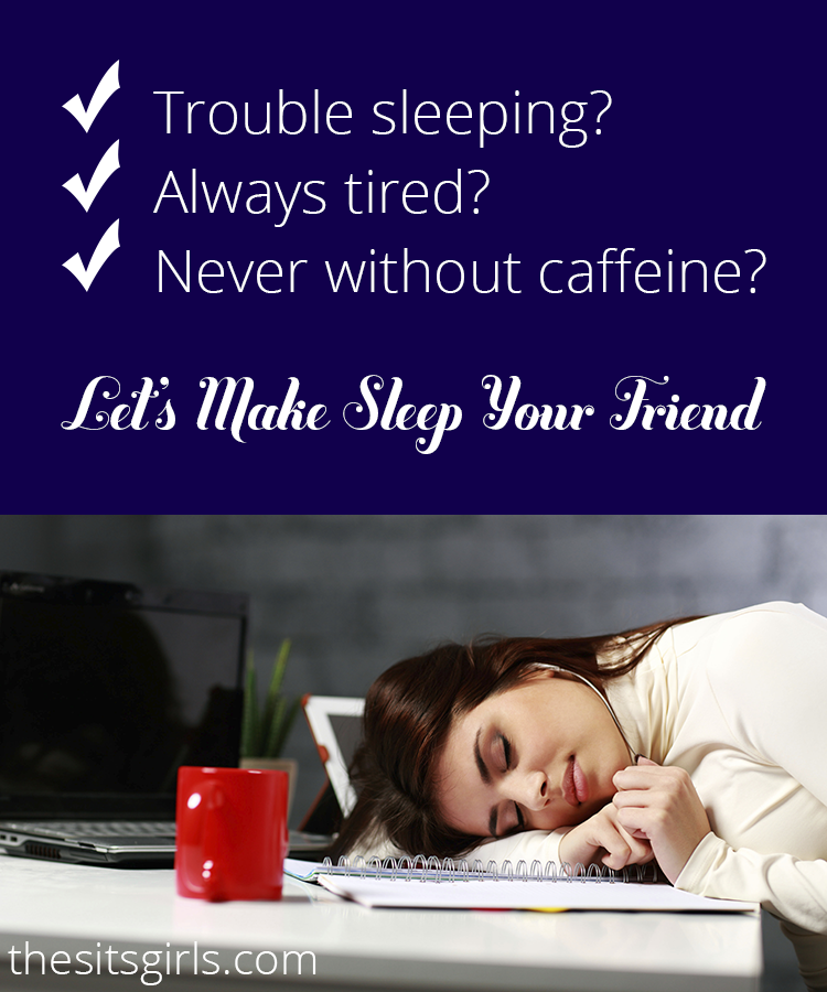 If you feel like you always need at least one more cup of coffee (or five!), you are not alone. Most of us are staying up too late and getting up too early. We want to help you get more restful sleep.
