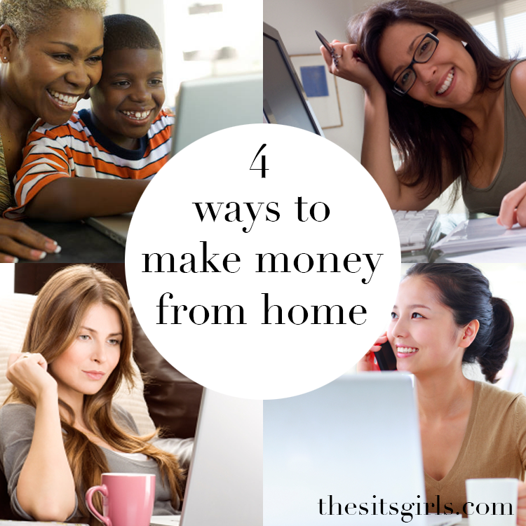 4 ways you can make money from home - no scams or sales pitches.