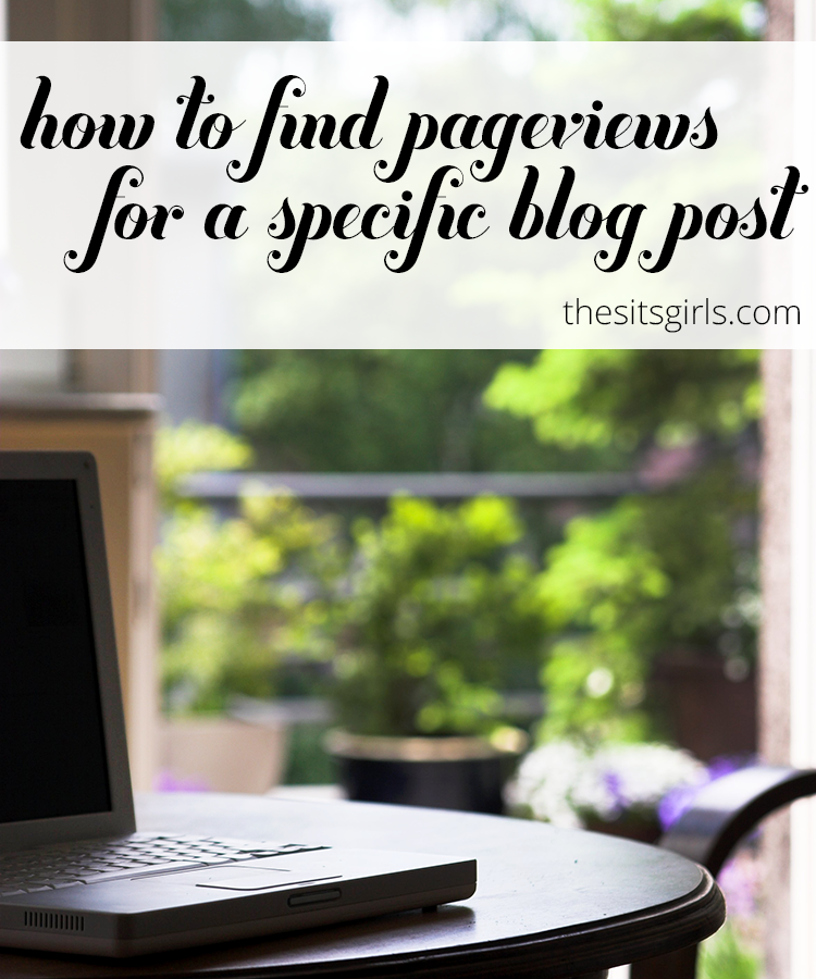 This google analytics tutorial will walk you through how to easily find pageviews received on a specific blog post.