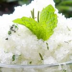DIY Coconut Oil Salt Scrub With Rosemary And Mint