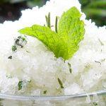 DIY Coconut Oil Salt Scrub With Rosemary And Mint