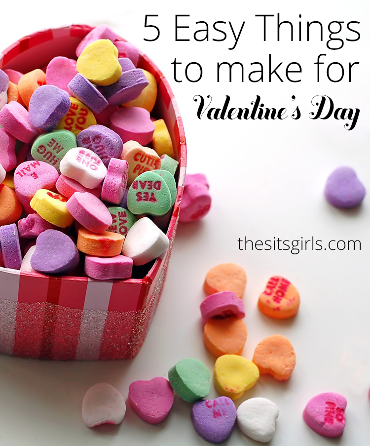 5 easy things to make for valentine 39 s day for Easy things to build