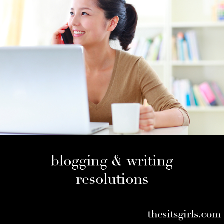 Be inspired to take your writing to the next level with these writing and blogging resolutions.
