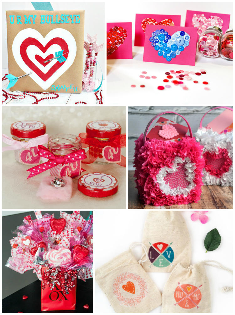 Six Valentine's Day crafts for the people you love.