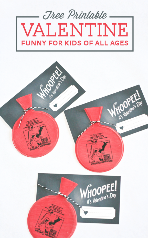 Whoopee Cushion Valentine