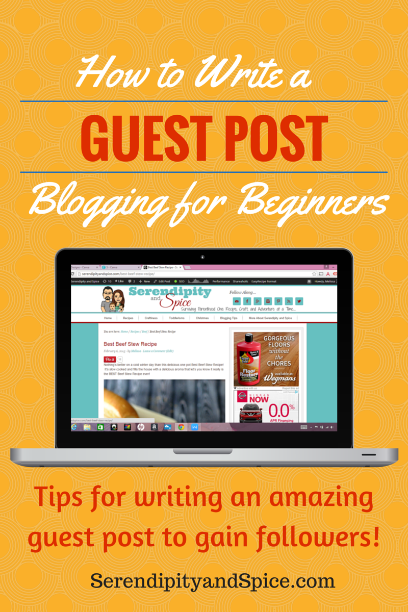 Seven Steps to Writing a Successful Guest Post