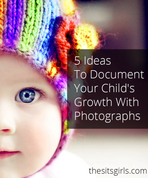 Looking for creative ways to document your baby's growth in the first year? We have five fun photography ideas you will love!