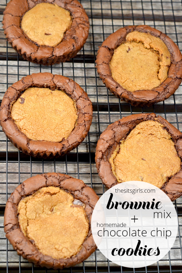 Learn how to make cookies and brownies at the same time with this AMAZING Brookie recipe. You won't look at a plain brownie the same way ever again.