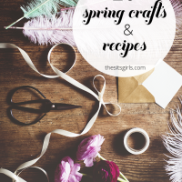 20 amazing crafts and recipes to bring spring into your home decor, your wardrobe, and your kitchen.